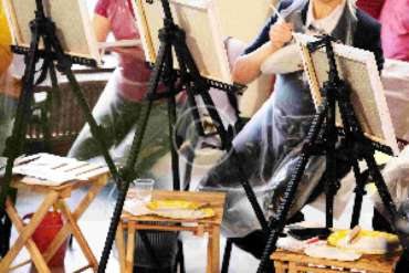 Becoming an Artist in Later Life