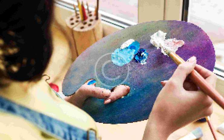 The Importance of Color Mixing for Interesting Paintings